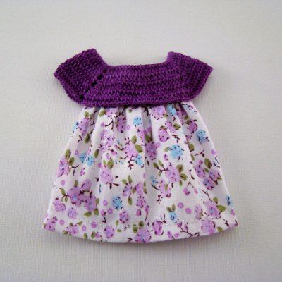 Miniatura Vestido Lilás Foto 1